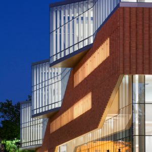 Kent State Center for Architecture and Environmental Design, Location: Kent OH, Architect: Weiss/Manfredi Architects